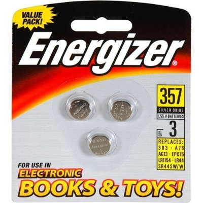 1.5V Silver Oxide Button Battery Retail Pack - 3- by Energizer