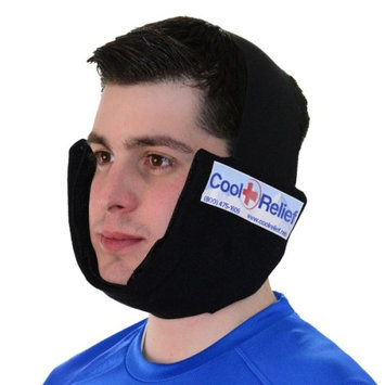 Cool Relief CRIJ-2 Jaw Ice Pack Cold Wrap by Cool Relief -2 Removeable Inserts