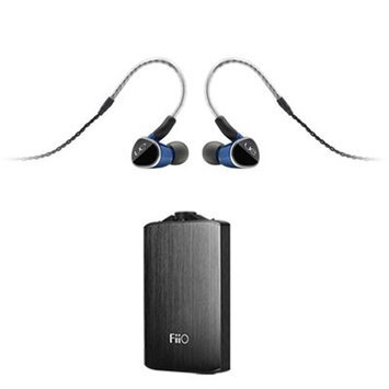 Ultimate Ears Universal Fit Earphones w/ FiiO A3 Portable Headphone Amplifier (Silver)
