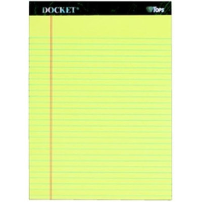 TOPS Docket Legal Pad, 8-1/2
