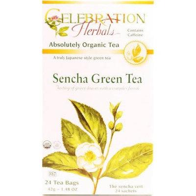 Celebration Herbals Sencha Green Tea, 24 count, 1.48 oz, (Pack of 3)