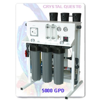 Crystal Quest CQE-CO-02029 Commercial Reverse Osmosis 5000 GPD Water Filter System