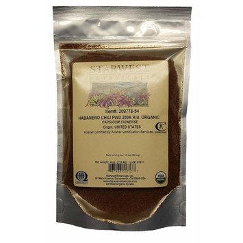 Starwest Botanicals Organic Habanero Chili Powder 200K H.U.