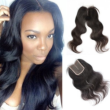 Vanessa Queen Middle Part Brazilian Body Wave With Baby Hair Lace Closure Bleached Knots 3.5