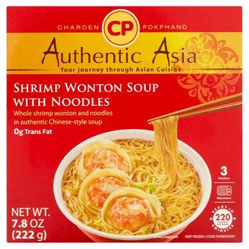 CP Authentic Asia 3 Pieces Shrimp Wonton Soup with Noodles, 7.8 oz.
