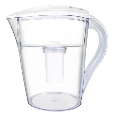 LeDoux Waters 10-Cup Water Pitcher Filter with 1 Filter Included (White)