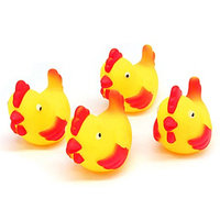 20 x Hen Doll Vinyl Squeaker Fetch Bathing Toy for Baby