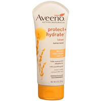 AVEENO Active Naturals Protect + Hydrate SPF 30 Lotion 3 oz (Pack of 8)