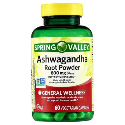 Spring Valley Ashwagandha 800mg, 60 ct
