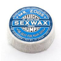 Sex Wax QUICK HUMPS 6X SURF WAX Pack of 2 Mr. Zogs