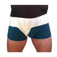 FlexaMed Right Side Inguinal Hernia Support Truss Belt with Compression Pad