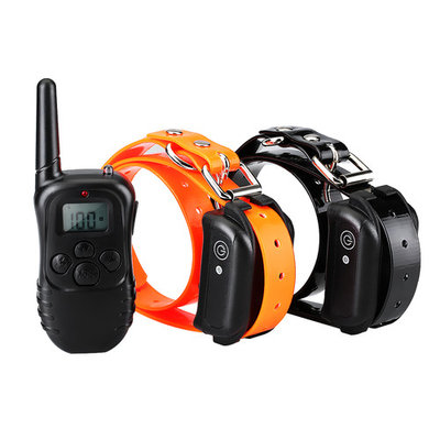 VicTsing Dog Training Collar, Remote 2 Dog Training Collar, Waterproof and Rechargeable Collar with Light/Beep/Vibration/Static Operations, Barking Collar for Large, Medium and Small Dogs