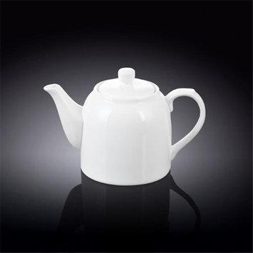 Wilmax 994034 375 ml Tea Pot White - Pack of 36