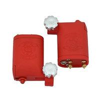 Star Tattoo 2pcs/lot Pro Red Rotary Tattoo Machine Kits