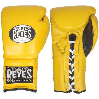 Reyes Gloves, Lace, Yellow, 14 Oz