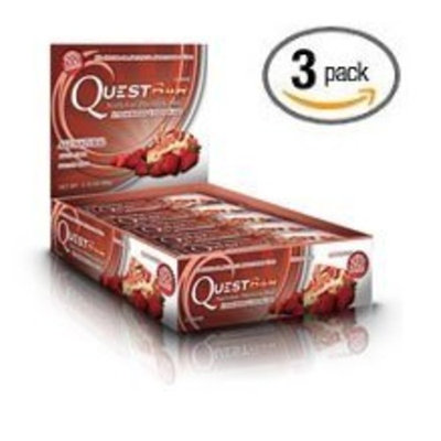 Quest Nutrition - Chocolate Chip Cookie Dough Protein Bar Gluten Free