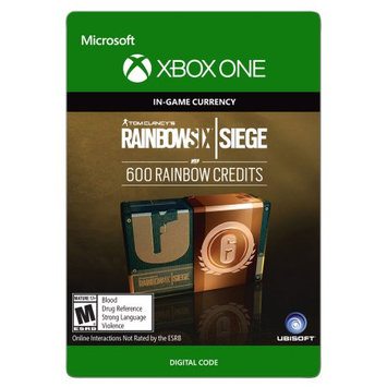 Incomm Xbox One Tom Clancy's Rainbow Six Siege Currency pack 600 Rainbow credits (email delivery)