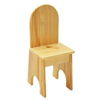 Solid Back Kids Chair (Unfinished)