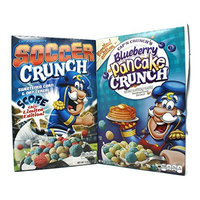 Variety Pack - Capn Crunchs Cereal (11.4oz) - Soccer Crunch, Blueberry Pancake Crunch