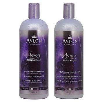 Avlon Affirm Moistur Right Nourishing Shampoo + Conditioner 32oz