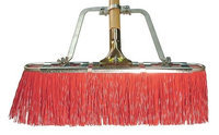 TOUGH GUY 12L032 Push Broom w/Hndl, Poly,65 In. OAL