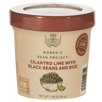 Women's Bean Project Ready-To-Eat Cilantro Lime with Black Beans and Rice Cup, 1.98 oz. cup