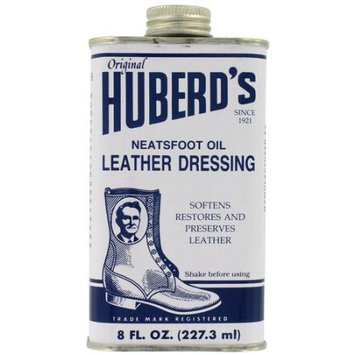 Huberd's Huberds HLD Neatsfoot Oil Leather Dressing Shoe Grease - 8 Oz.