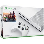 Microsoft Refurbished Xbox One S 500GB Console - Battlefield 1 Bundle