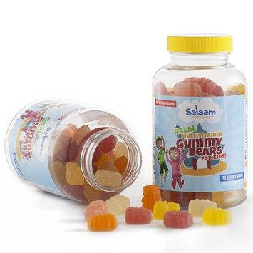 Salaam Nutritionals Children's Halal Gummy Multivitamins – 13 Essential Vitamins and Minerals with Antioxidants – Kosher, Vegetarian, Non-GMO, Gluten, Dairy, & Nut Free (2 Pack, 180 Total Count)