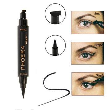 CYCTECH Easy to Makeup Vamp Stamp Cat Eye Wing Cushion Waterproof Glitter Liquid Eyeliner Pen