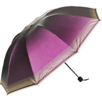 SumacLife Rainy/UV Travel Umbrella 44in (Regal Purple)