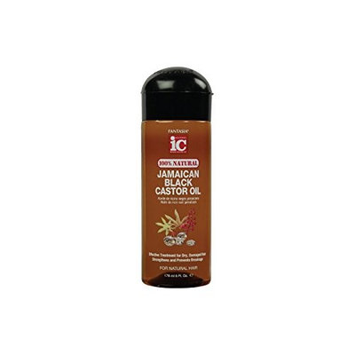 Fantasia IC Jamaican Black Castor Oil for Natural Hair Travel size 100% Natural (2 oz)