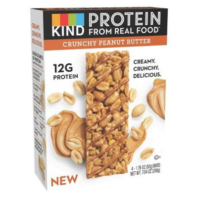 KIND Protein Crunchy Peanut Butter Nutrition Bars - 1.76oz/4ct