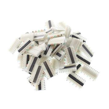 Leviton 1110C-5 110-Type Connecting Blocks, 5-Pair, C5 Block, (50 Pack)