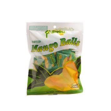Philippine Brand Dried Mango Balls, 3.5-Ounce Pouches (Pack of 10)
