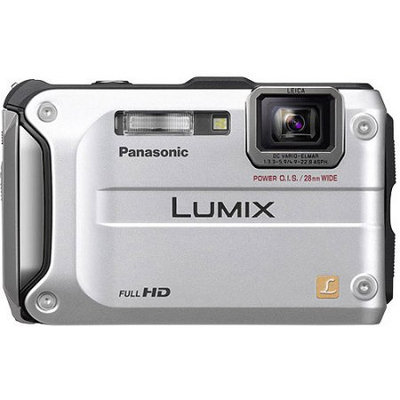 Panasonic Lumix DMC-TS3 12.1 Megapixel Digital Camera with 4.6 Optical Zoom, Waterproof, Hybrid O.I.S, 2.7 LCD, Silver