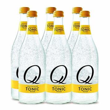 Q Drinks, Q Tonic Spectacular Tonic Water, Premium Mixer, 500 ml Glass Bottles (Pack of 6)