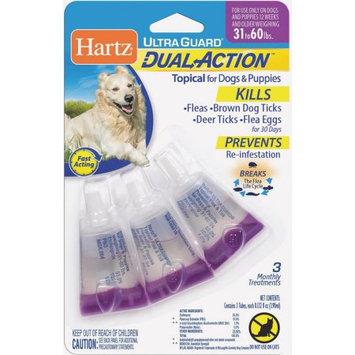 Hartz Mountain Hartz Dual Action Dog Drops 31-60lb