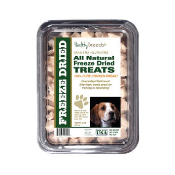 Healthy Breeds 840235147008 8 oz American English Coonhound All Natural Freeze Dried Treats Chicken Breast