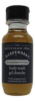 Beekman 1802 Dispensary Body Wash Lot of 4 Each 1oz Bottles. oz (Pack of 4)
