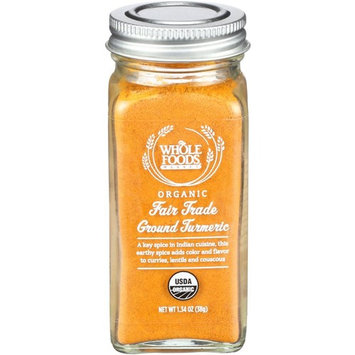 Whole Foods Market, Organic Fair Trade Ground Turmeric, 1.34 oz