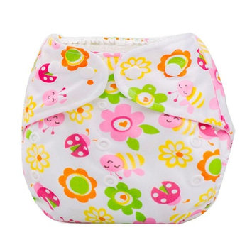 Baby Summer Diaper, Misaky Cover Adjustable Reusable Washable Nappy