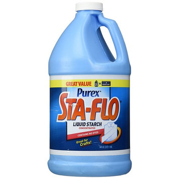 Purex Sta-Flo Concentrated Liquid Starch, 64 Ounces - Pack of 10