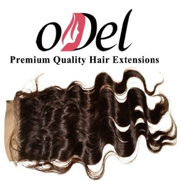 oDDl Virgin Brazilian Remy Hair Silk Top Lace Closures Wavy (4