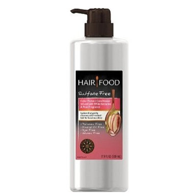 Hair Food Sulfate Free Color Protect Conditioner Infused with White Nectarine & Pear Fragrance 17.9oz, pack of 1