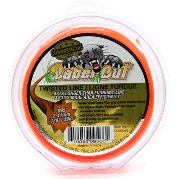 Proulx Mfg., Inc. Super Edge DU095W2 128ft 095 DONUT Shaped Trimmer Line - Orange