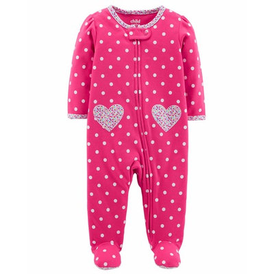 Baby Girl Zip-up Sleep 'N Play [baby_clothing_size: baby_clothing_size-0-3m]