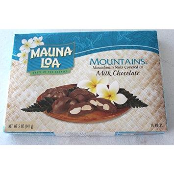 Multi Pack Mauna Loa Mountains Chocolate Covered Macadamia Nuts (3-5oz boxes)