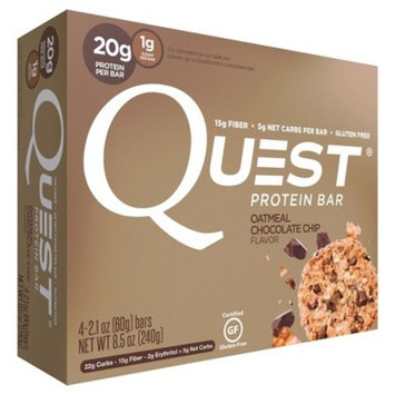 Quest Nutrition® Protein Bar - Oatmeal Chocolate Chip - 4ct