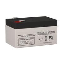 Napco Alarms MA1000E PAK Battery Replacement (12V 1.2AH )